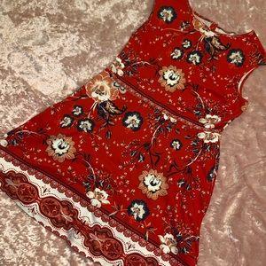 Red NY&COMPANY dress